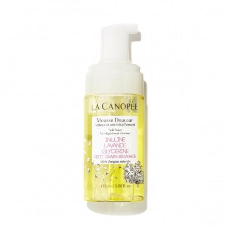 La Canopée - Mousse nettoyante douceur anti-tiraillement - Vegan & 100% Naturelle - Select store Cosmétiques Vegans