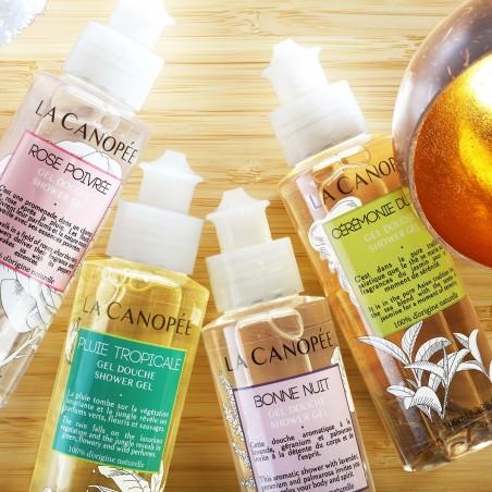 La Canopée - Gel douche Rose Poivrée - Vegan & 100% Naturelle - Select store Cosmétiques Vegans