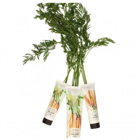 Hands on Veggies - Lotion Energisante pour le corps Carotte & Ylang-Ylang - Vegan & Bio - Select Store Cosmétiques Vegans