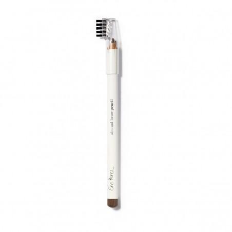 Ere Perez - Crayon à Sourcils - Marron Foncé - Maquillage Vegan & Naturel - Select Store Cosmétiques Vegans