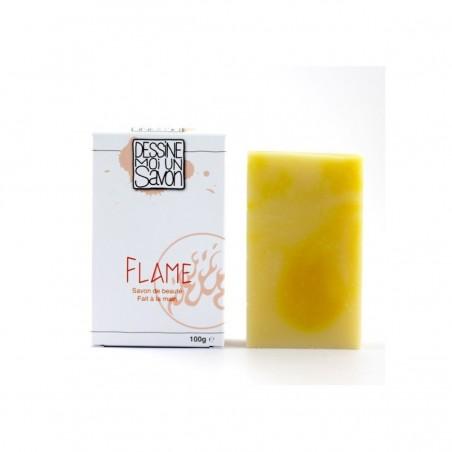 Savon Surgras - Flame - Karité & Parfum Citronné - 100 g - Vegan & Zéro déchet - Select Store Cosmétiques Vegans