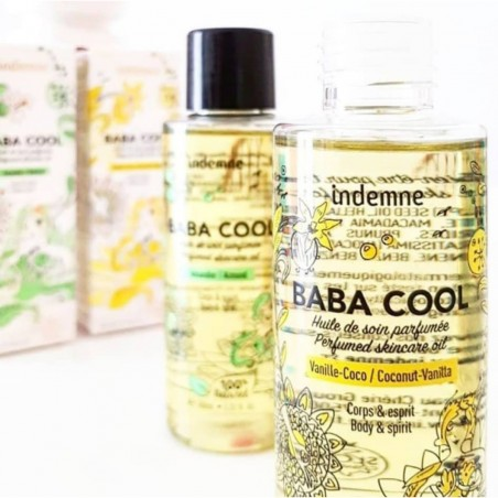 Indemne - Huile de soin Baba Cool - Vanille & Coco - Vegan & Bio - Select store Cosmétiques Vegans