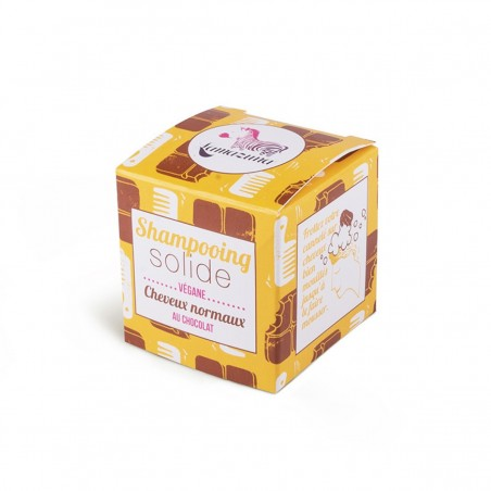 Lamazuna - Shampoing Solide - Cheveux Normaux à Secs - Chocolat - Vegan, Bio & Zéro Déchet - Select Store Cosmétiques Vegans