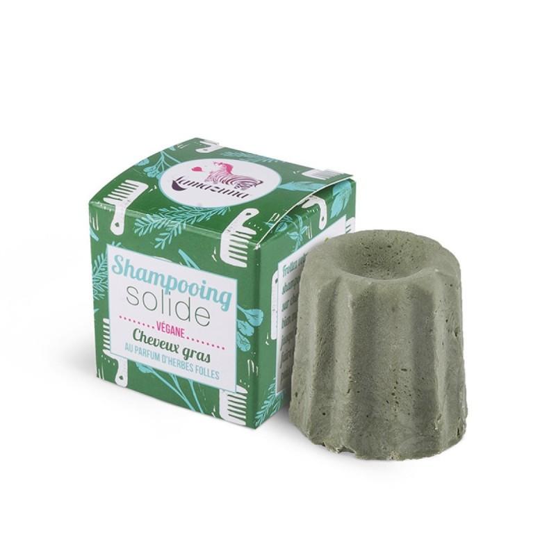 Lamazuna - Shampoing Solide - Cheveux Gras - Herbes Folles - Vegan, Bio & Zéro Déchet - Select Store Cosmétiques Vegans