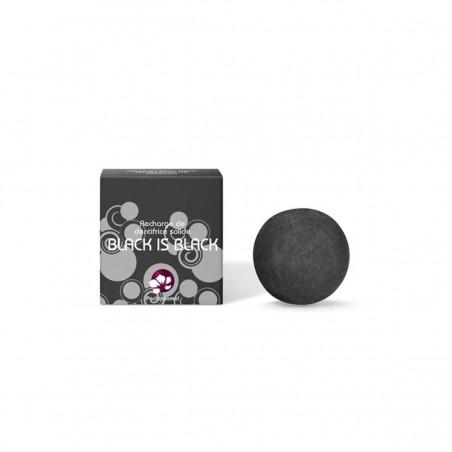 Pachamamaï - Dentifrice Solide au Charbon - Black is Black - Naturel, Vegan & Zéro déchet - Select Store Cosmétiques Vegans