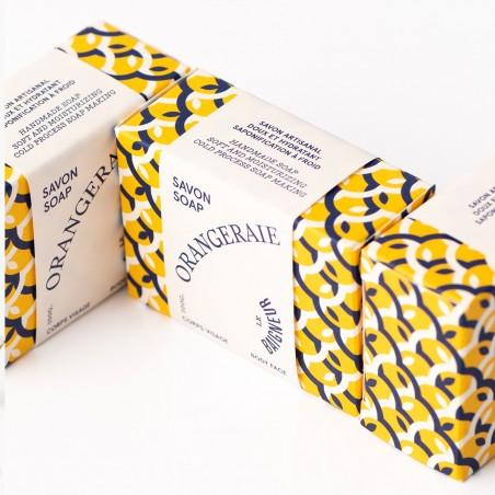 Le Baigneur - Savon Solide Surgras - Argan, Fleur d'orange et Ylang ylang - Vegan et Bio - Select Store Cosmétiques