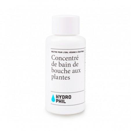 Concentré de Bain de Bouche aux plantes - Menthe verte, menthe poivrée & Citron Vert - 100 ml Hydrophil - 1