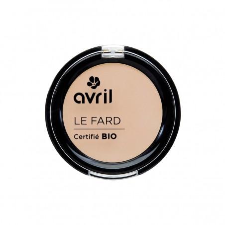 Avril - Fard à Paupières Beige Mat - Maquillage Bio et Végan - Select Store Cosmétiques Vegans