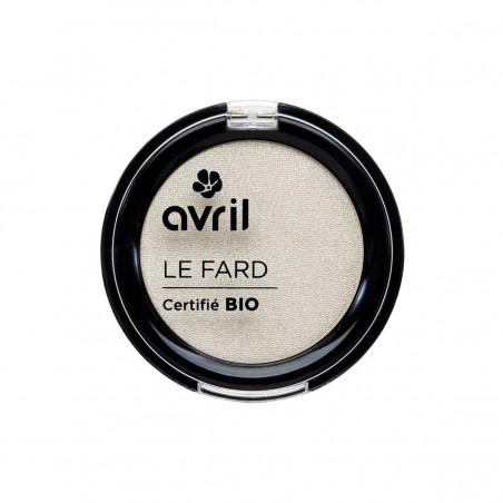 Avril - Fard à Paupières Ivoire Nacré - Maquillage Bio et Végan - Select Store Cosmétiques Vegans