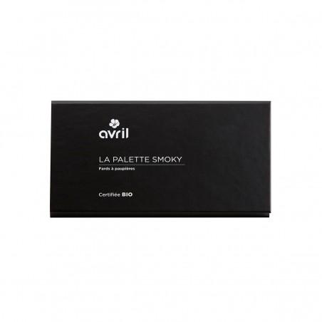 Avril - Palette de Fards à Paupières Smoky - 6 coloris Maquillage Bio et Végan - Select Store Cosmétiques Vegans