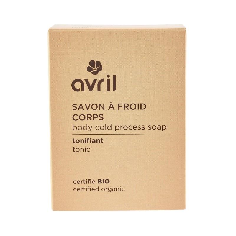 Avril - Savon solide saponifié à Froid - Tonifiant - Naturel, Vegan & Bio - Select Store Cosmétiques Vegans