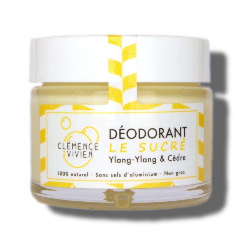 Clémence et Vivien - Déodorant crémeux et naturel - Vegan, Naturel et Made in France - Select Store Cosmétiques Vegans