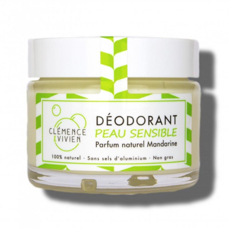 Clémence et Vivien - Déodorant végan et naturel spécial peaux sensibles - Femmes enceintes et allaitantes - Vegan & Naturel