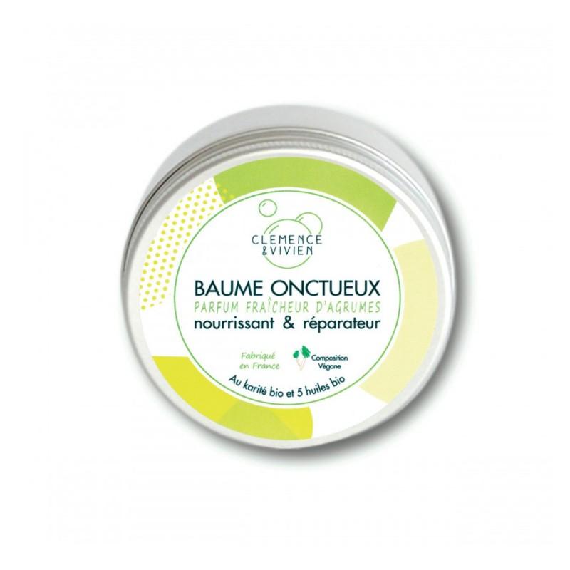 Clémence et Vivien - Mini Baume fondant vegan - Soin nourrissant Multi-usage - Vegan, Bio, 100% Naturel & Fabriqué en France