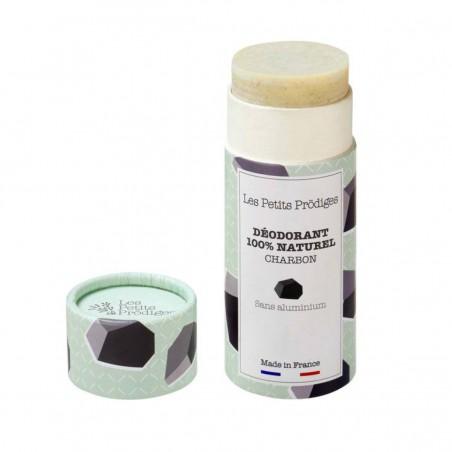 Les Petits Prodiges - Déodorant stick - Charbon & Eucalyptus - Vegan & Naturel - Select store éthique Cosmétiques Vegans