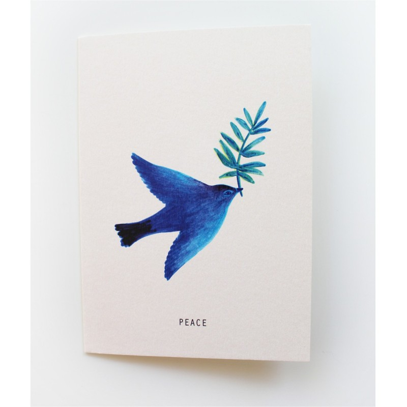Papeterie Française Season paper - Carte L'oiseau de Paix - Lifestyle & Fabriqué en France - Select Store Cosmétique Vegans