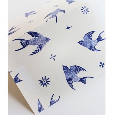 Carte à Message Azujelos Season Paper Collection - 3