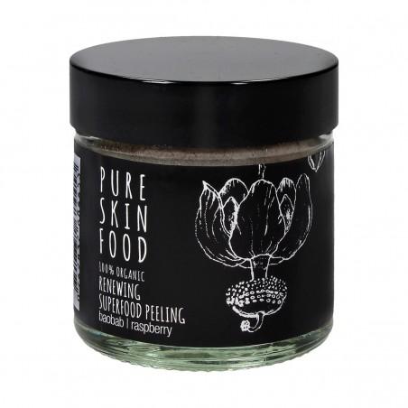Pure skin food - Gommage / Masque Peeling aux acides de fruits - Vegan & Naturel - Select store éthique Cosmétiques Vegans