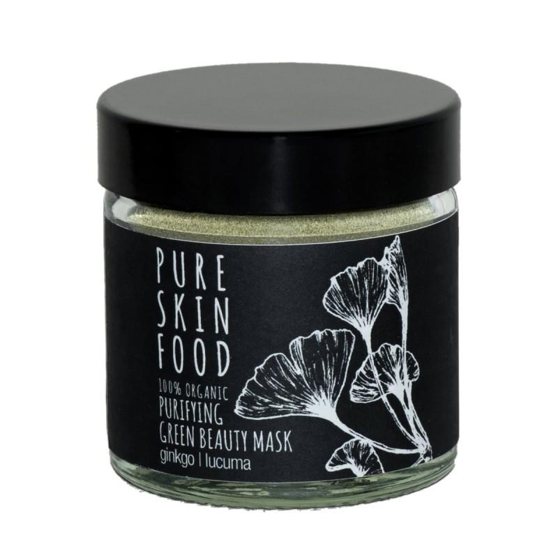 Pure skin food - Masque traitant anti-inflammatoire et anti-imperfections - Select store éthique Cosmétiques Vegans