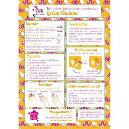 Lamazuna - Cup menstruelle - Hygiène féminine économique & Zéro Déchet - Select Store Cosmétiques Vegans
