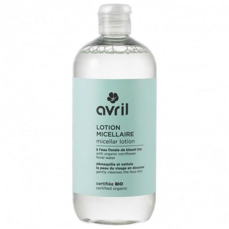 Avril - Lotion et Eau Micellaire Démaquillante - Eau de Bleuet et Aloe Vera Bio - Vegan & Bio - Select Store Cosmétiques Vegans