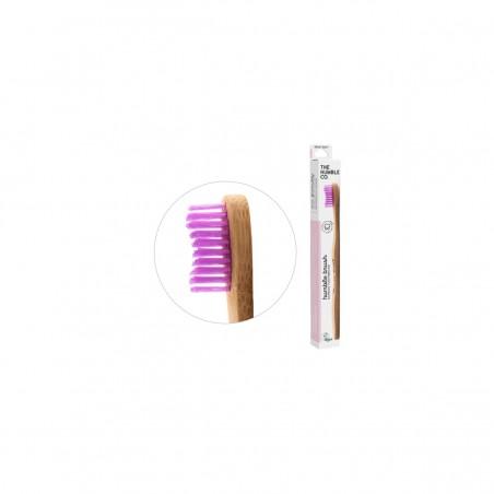 The Humble - Brosse à dent medium pour adulte en Bambou - Zéro déchet & Vegan - Select store Cosmétiques Vegans