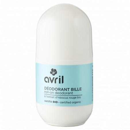 Avril - Déodorant Bille - Roll On - Aloe Vera Bio - Naturel, Vegan & Bio - Select Store Cosmétiques Vegans