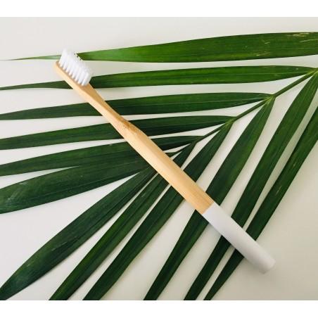 Brosse à dent Bambou biodégradable Cosmétiques Vegans - 2