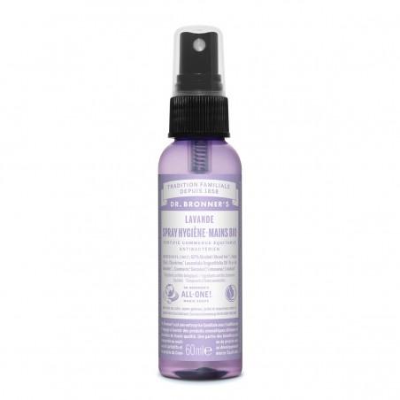 Dr Bronner's - Spray désinfectant - Eau hydroalcoolique Bio & Vegan - Geste barrière Covid - Select Store Cosmétiques Vegans