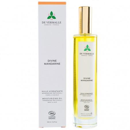 De Vermalle - Huile Hydratante Bio Corps & Cheveux Bio & Vegan - Agrumes & Patchouli - Select Store Cosmétiques Vegans