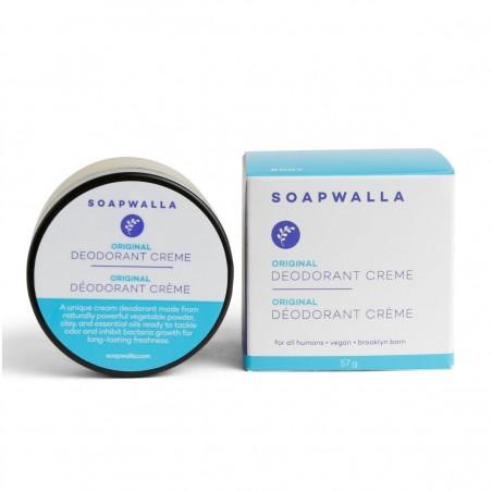 Soapwalla Kitchen - Déodorant Crème Bio, Naturel & Vegan - L'Original - Select store éthique Cosmétiques Vegans