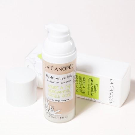La Canopée - Crème Fluide Peau Parfaite - Vegan & 100% Naturelle - Select store Cosmétiques Vegans