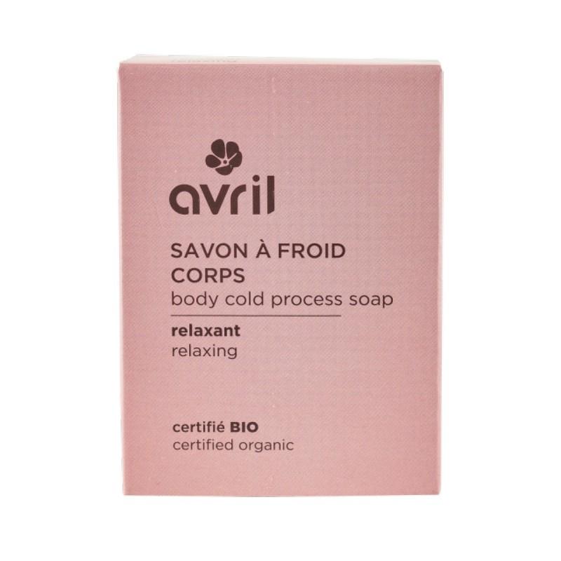Avril - Savon solide saponifié à Froid Relaxant - Naturel, Vegan & Bio - Select Store Cosmétiques Vegans