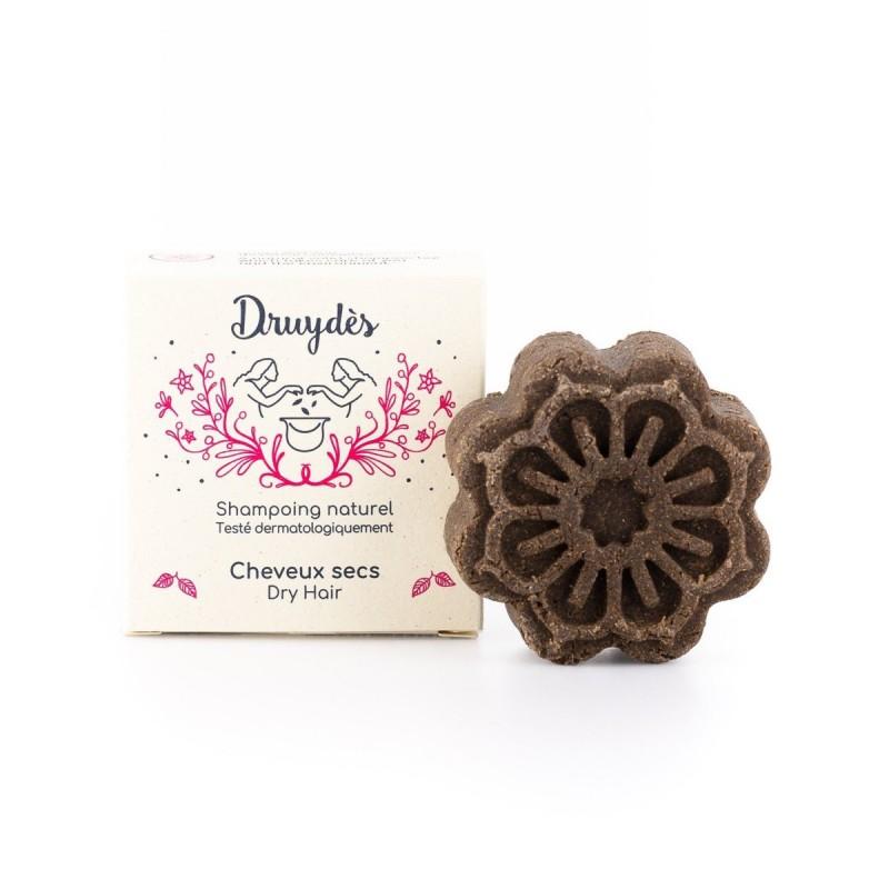 Druydès - Shampoing Solide Bio - Cheveux Secs - Beurre de Karité - Vegan, Bio & Zéro Déchet - Select Store Cosmétiques Vegans