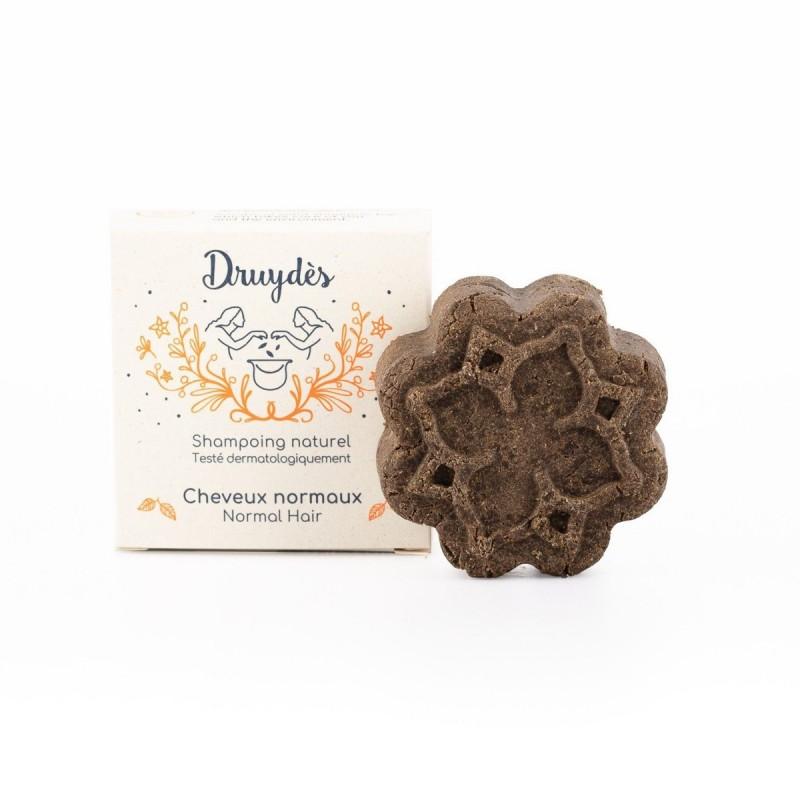 Druydès - Shampoing Solide Bio - Cheveux Normaux - Huile de Chanvre - Vegan, Bio & Zéro Déchet - Select Store Cosmétiques Vegans