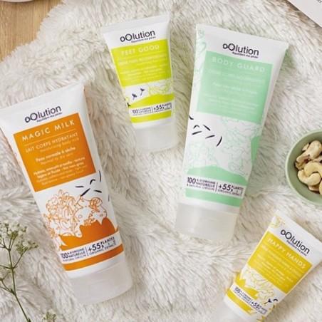 oOlution - Lait corps hydratant bio - Magic Milk - Soin hydratant vegan, naturel & bio - Select store Cosmétiques Vegans