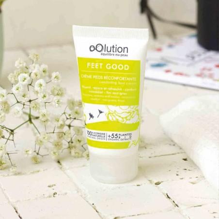 oOlution - Crème pieds réconfortante bio - Feet Good - Vegan, naturel & bio - Select store éthique Cosmétiques Vegans