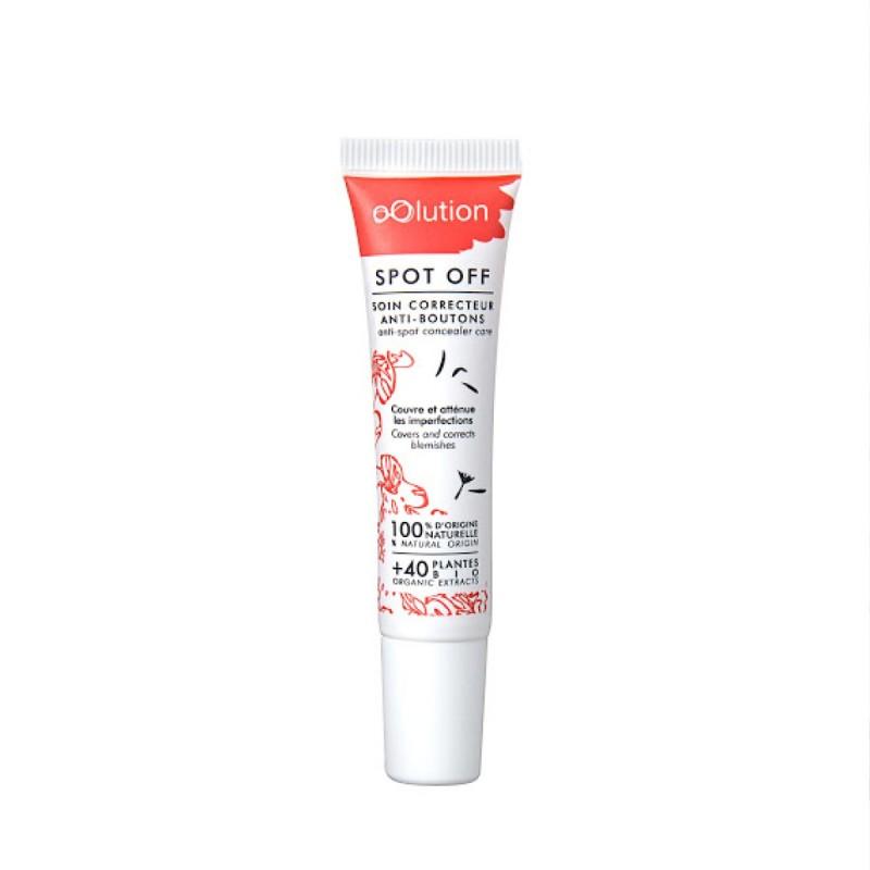 oOlution - Sérum soin correcteur anti-boutons - Spot off - Vegan, naturel & bio - Select store éthique Cosmétiques Vegans