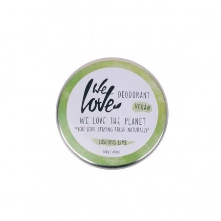 We Love the Planet - Déodorant Creme Liscious Lime - Zéro déchet, Vegan & 100% Naturelle - Select store Cosmétiques Vegans