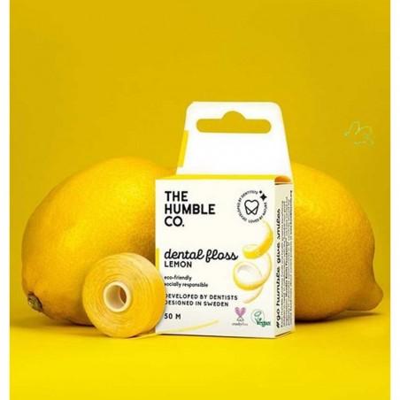 The Humble - Fil Dentaire Vegan au Citron - Select store Cosmétiques Vegans