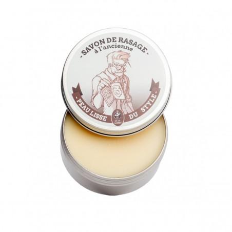 Ca va Barber - Savon de rasage - PEau Lisse du Style - Karité, Coco & Orange Douce - Select store Cosmétiques Vegans