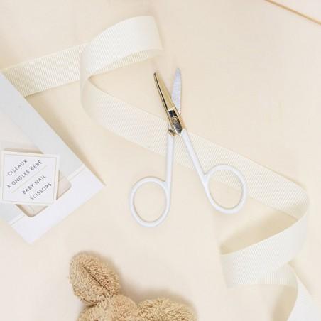Bachca - Ciseaux spécial bébé bout ronde - Accessoire salle de bain & bébé - Select Store éthique Cosmétiques Vegans