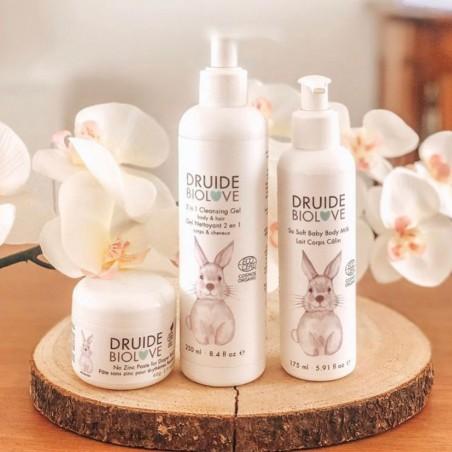 Druide Bio Love - Lait hydratant bio Corps - Câlin - Bébé & Enfant - Vegan & Bio - Select Store Cosmétiques Vegans