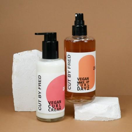 Cut by Fred - Crème & Soin cheveux bouclés - Curl Cream - Vegan & Made in France - Select store éthique Cosmétiques Vegans
