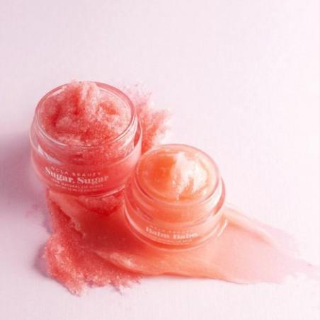 NCLA - Coffret Duo soin des lèvres Vegan & Naturel - Gommage & Baume - Champagne rosé - Select store éthique Cosmétiques Vegans