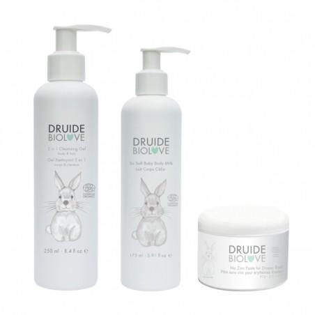 Druide bio Love - Coffret 3 Soins indispensables - Bébé & Enfant - Naturel, Vegan & Bio - Select Store Cosmétiques Vegans