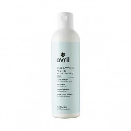 Avril - Base lavante Neutre Haute Tolérance - Visage, Corps & Cheveux - Naturel, Vegan & Bio - Select Store Cosmétiques Vegans