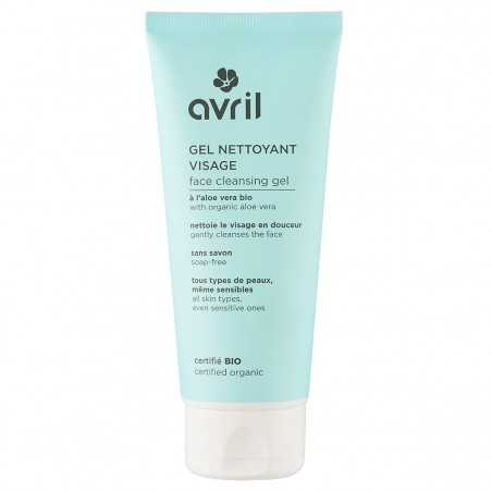 Avril - Gel Nettoyant Visage sans savon - Aloe Vera Bio - Naturel, Vegan & Bio - Select Store Cosmétiques Vegans