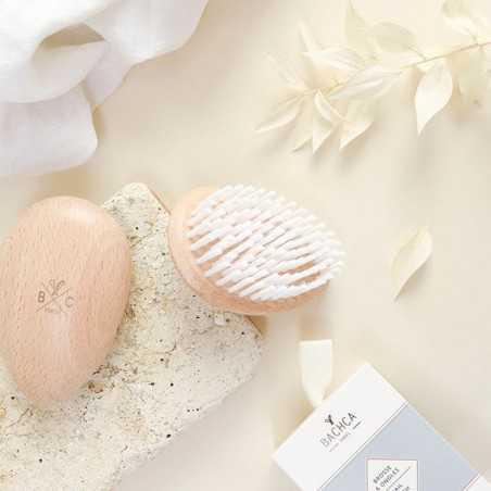 Bachca - Brosse à ongles en Hêtre - Accessoire salle de bain & manucure - Select Store éthique Cosmétiques Vegans