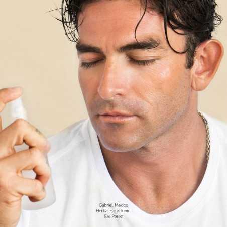 Ere Perez - Brume visage Hydratante - Thé Vert & Acide Hyaluronique - Soin Vegan & Naturel Homme - Cosmétiques Vegans